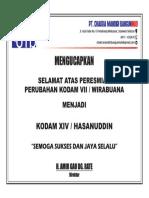 Ucapan Selamat PT. Chakra PDF
