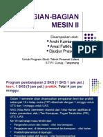 Elemen Mesin- II