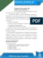Actividades Semana 2 Taller Programa y Plan de Auditoría - AA2