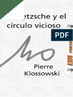 Klossowski Pierre - Nietzsche y el Circulo Vicioso.pdf