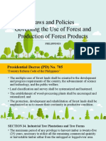Laws Governing the Use of Forest and Production