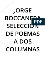 Jorge Boccanera Seleccion de Poemas a 2 columnas