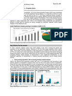 Sector Update Indian Health Care Industry March 2015