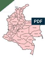 Colombia Departamentos