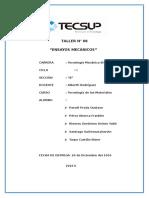 Informe 6 Ensayos Mecanicos