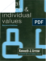 Kenneth Joseph Arrow-Social Choice and Individual Values (2nd Edition)-Yale University Press (1963)