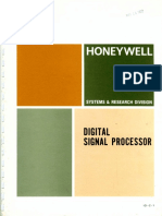 ID-C 1 Honeywell Digital Signal Processor Jan71