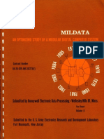 MILDATA an Optimizing Study of a Modular Digital Computer System Vol 2 Apr65