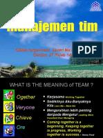 Manajemen Tim