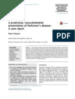 Parkinsons Case Report IJOM
