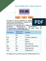El Verbo To Be en Inglés Fácil