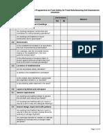 PAS 220 2008 Checklist