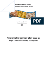 Nepal Commercial Poultry Survey 2071_72