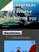 Macroformas Del Relieve Chileno - 2017