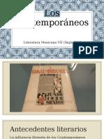 Exposición Los Contemporáneos