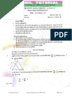 10th Maths Sa-1 Sep 2016 Original Question Paper-9