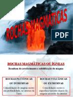 Rochas magmáticas ppt