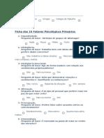 Ficha dos 16 Fatores Psicológicos Primários.docx