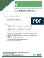 Powerful Coaching Questions