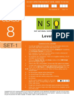 Nso Level2 Class 8 Set 1