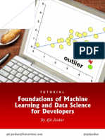 Foundations of Machine Learning and Data Science for Developers