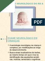 Exame Neurológco Do Recém-nascido a Termo