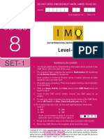 Imo Level2 Class 8 Set 1