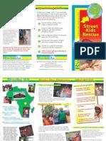 Comfort Rwanda - Street Kids Rescue Leaflet