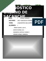 DIAGNOSTICO SACANCHE