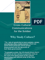 Cross Cultural Communications for the Soldier