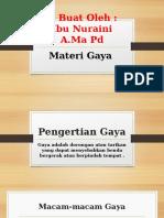 Slide Materi Gaya