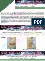 Especial Salud Cáncer  - 1 - Fundación Keshe 2017