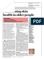 Maintaining Skin Health of the Older People