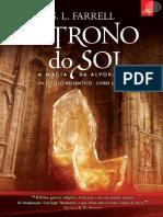 O Trono Do Sol 01 - A Magia Da Alvorada - S. L. Farrell