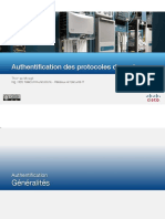 Authentification Des Protocoles de Routage