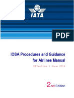 Procedures and Guidance for Airlines Manual ED 2 May2014