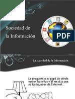 DERECHO INFORMATICO Sociedad de La Informacion