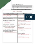 lesson plan linguestic