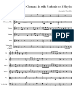 Sonatina 1 Clementi in Stile Sinfonia 1 Haydn