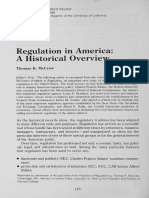 Regulation in America - Thomas McCraw