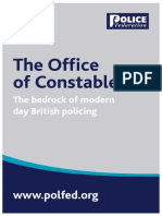 The Office of Constable July15