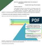 Cómo Elaborar Un Proyecto. Guía Para Diseñar Proyectos Sociales y Culturales.