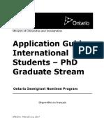 Oi App Guide Phd