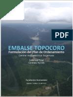 Plan Ordenamiento Embalse Topocoro Central Hidroelectrica Sogamoso