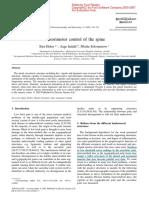 Control Sensoriomotor