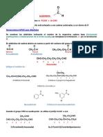Nomenclatura Aldehidos y Cetonas-A