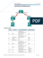 4.2.2.7 Lab - Configuring Frame Relay and Subinterfaces.docx