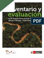 Inventario y Evaluacion de Los Bosques de las Cuencas de los rios Itaya, Nanay y Tahuayo en el departameto de Loreto, Peu