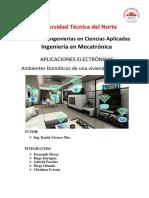 Informe de Domotica - Gabriel, Fernando, Hugo, Diego, Cristian