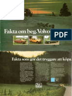 Fakta Om Beg. Volvo 1970-74.